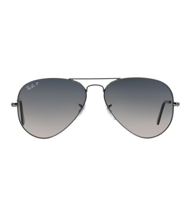 Gunmetal Aviator Sunglasses - rb3025