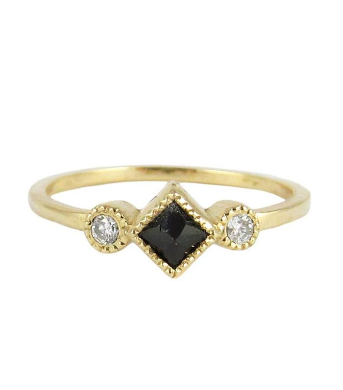 25 Black Engagement Rings To Consider Who What Wear
