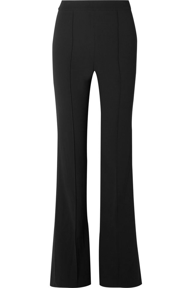 Jalisa Cady Wide-leg Pants