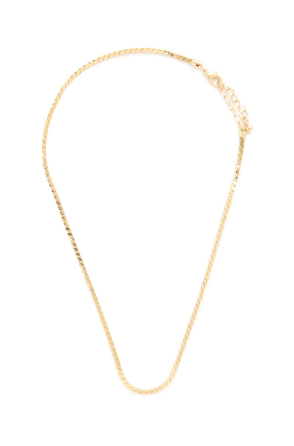 The Italian Gold Necklace Trend Who What Wear