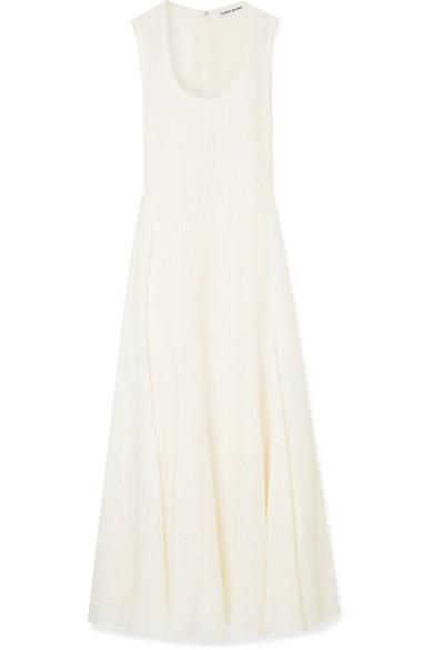 Lenox Linen-blend Maxi Dress