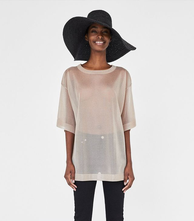 Zara Thin Oversize Top