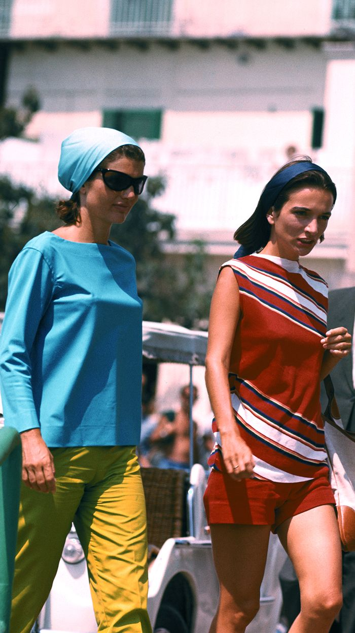 Jackie Kennedy Fashion: Jackie Kennedy Onassis Summer Style Outfits
