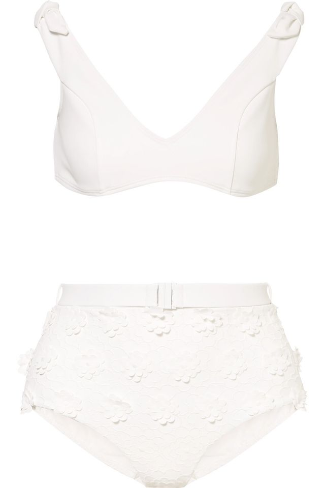 Lumino Daisy Appliquéd Bikini