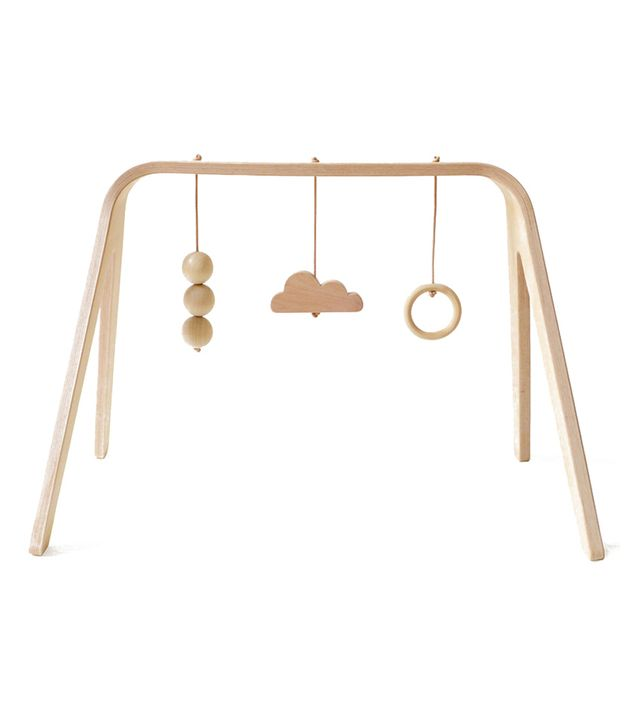 Mum and Dad Factory Wooden Activity Arch Natural
