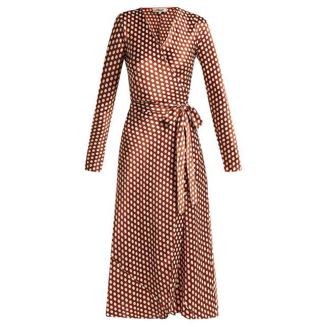 what to wear to a september wedding: Diane Von Furstenberg dress