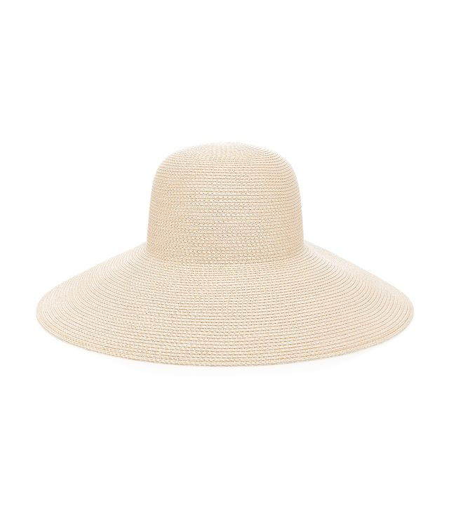 what to wear to a september wedding: Maison Michel Blanche Timeless Canapa Straw