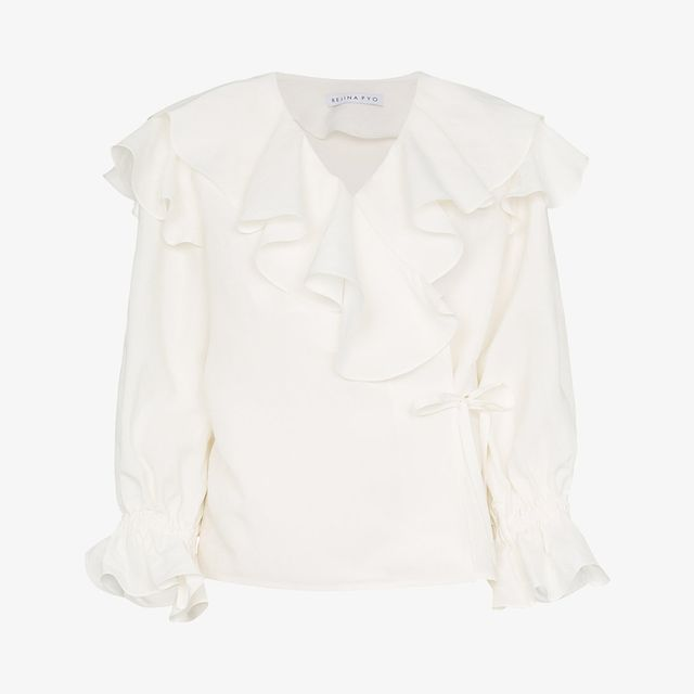 what to wear to a september wedding: Rejina Pyo blouse
