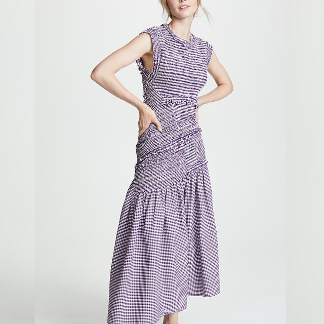 what to wear to a september wedding: 3.1 Phillip Lim drop waist dress