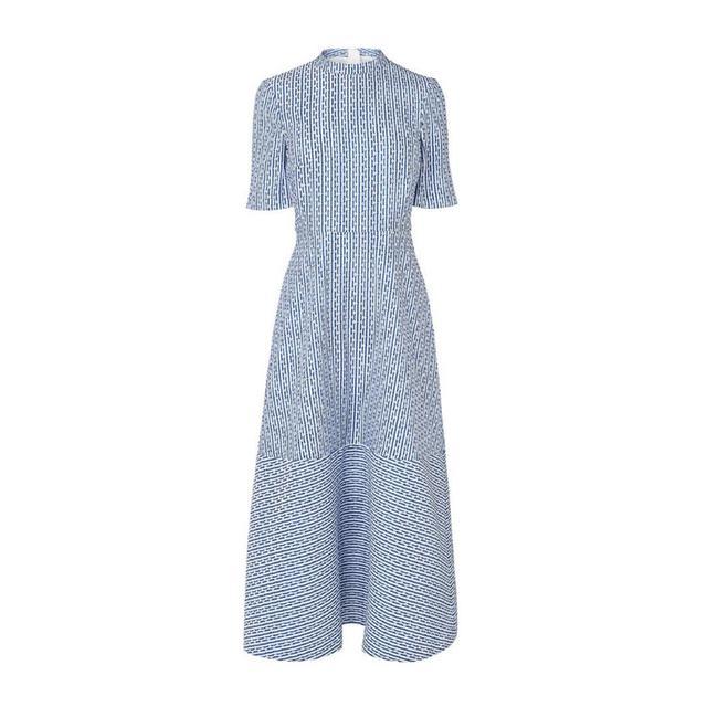 what to wear to a september wedding: LK Bennett Valery dress