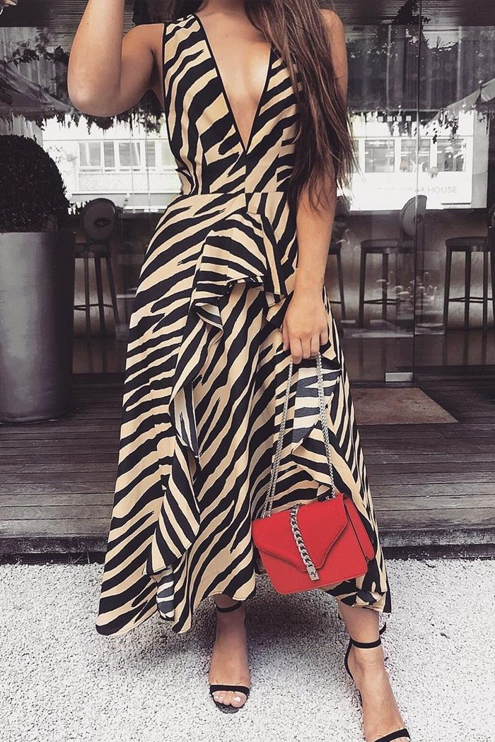 Topshop S Zebra Print Dress Is Going To Fly Out Of Stores