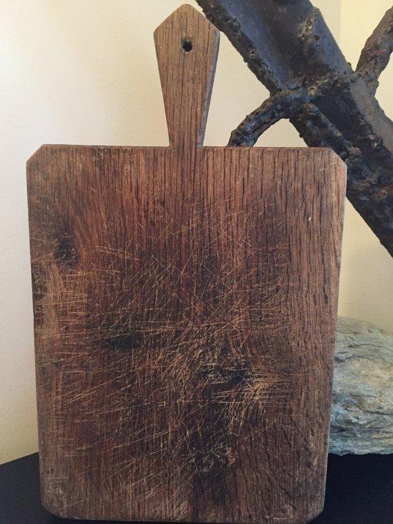 Chairish Antique French Cutting Board, Circa 1940