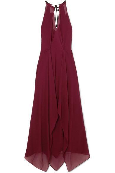 274fcda74eb 33 Burgundy Bridesmaid Dresses Perfect for a Fall Wedding