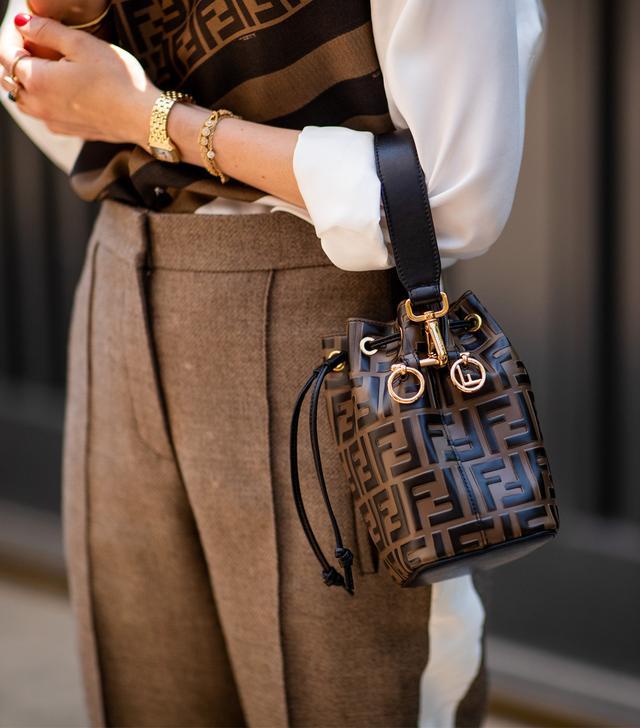 84414af1b95e Best Fendi bags  Street style carrying the Mon Trésor leather mini bag