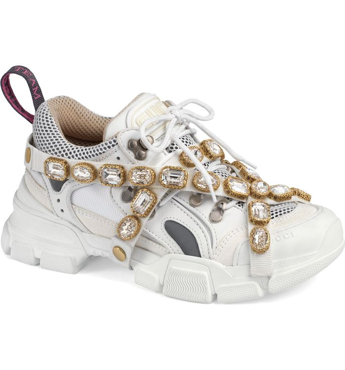 971d0c3b923 Gucci Just Released Over-the-Top Embellished Sneakers