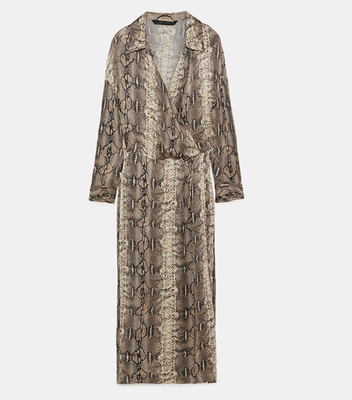 The Best Snake Print Dresses To Buy Now Who What Wear Uk
