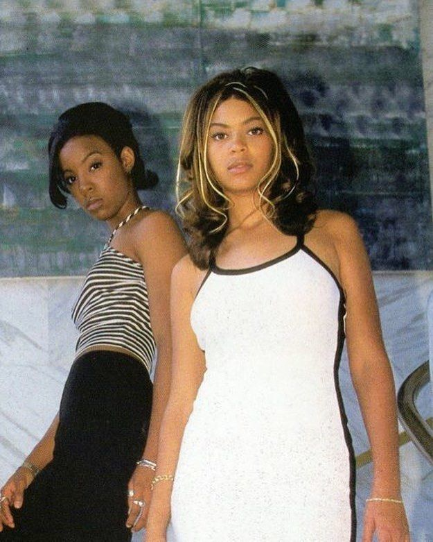Beyonce in the '90s