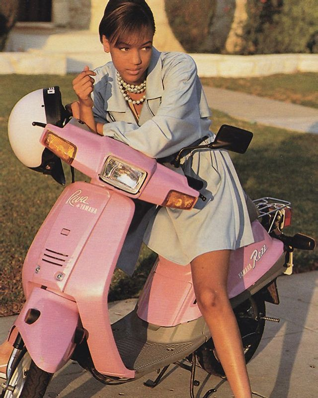 Tyra Banks in the '90s