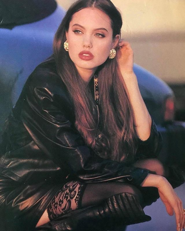 Angelina Jolie in the '90s
