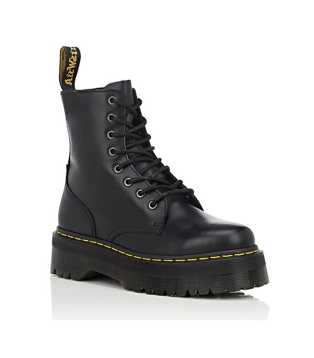 Women's Women's Jadon Leather Platform Ankle Boots