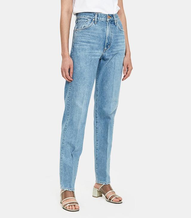 Pressed Classic Fit Jean in Marled Blue