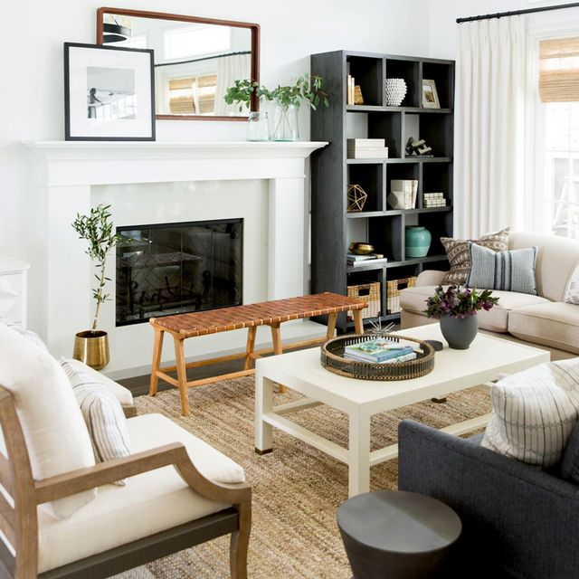 Farmhouse Living Rooms So Quaint You'll Want to Move to the Countryside