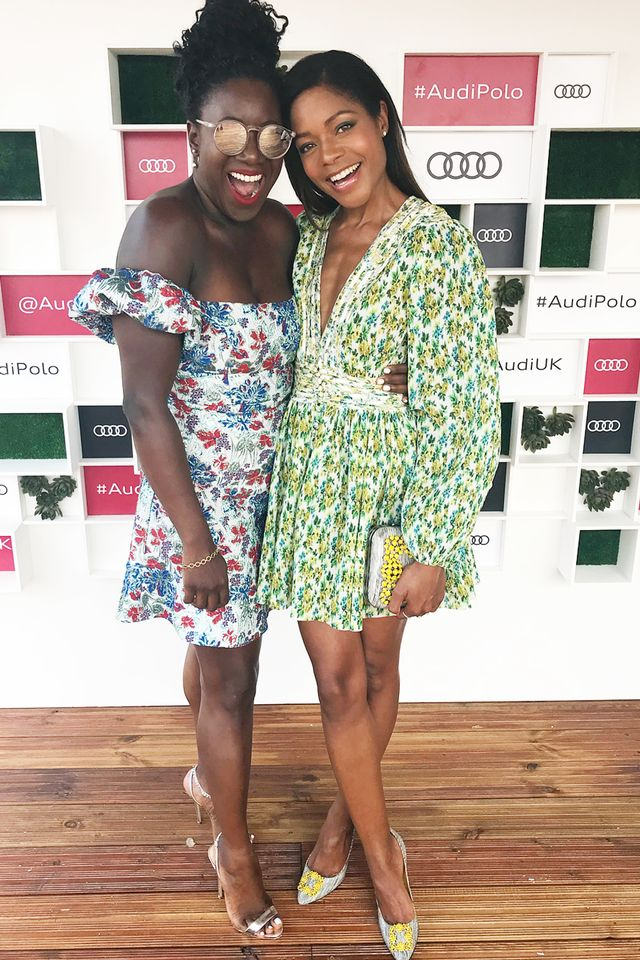 Stylish celebrities: Naomie Harris wears a Zimmermann dress