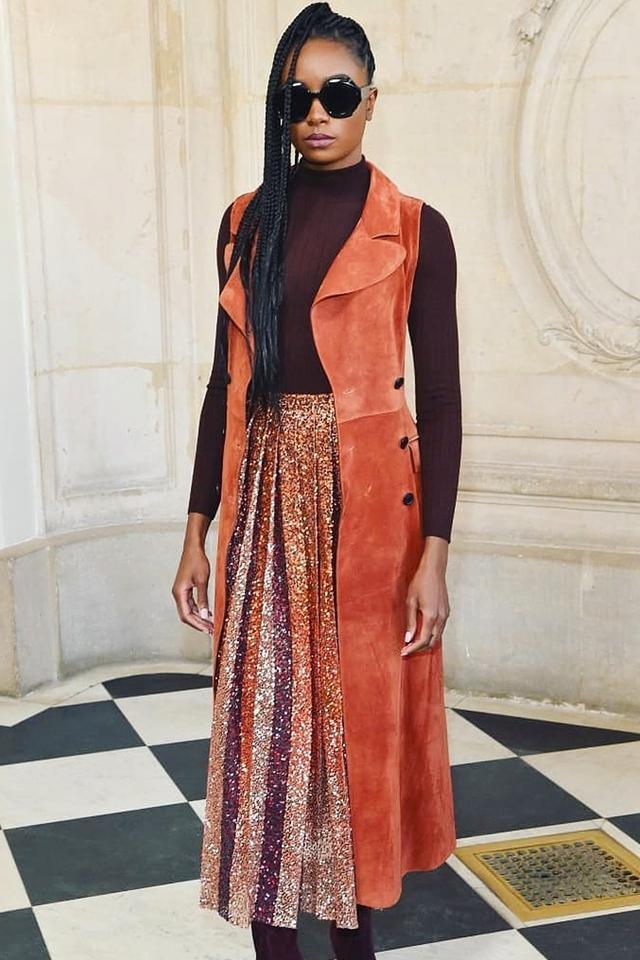 Stylish celebrities: Kiki Layne