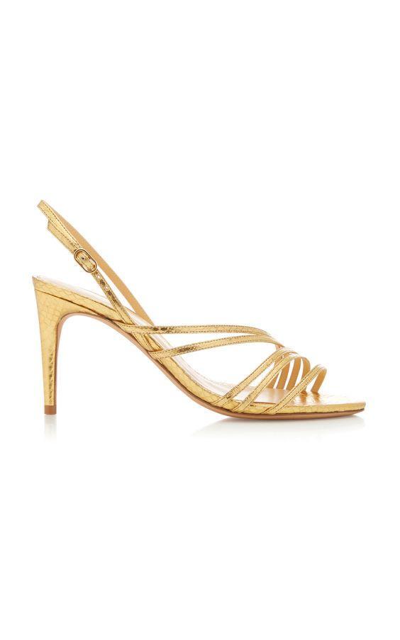 best wedding accessories: strappy sandals