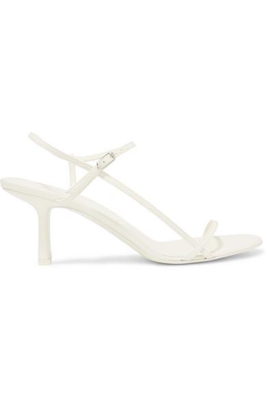 best wedding accessories: nude sandals