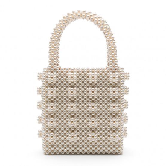 best wedding accessories: beaded bag