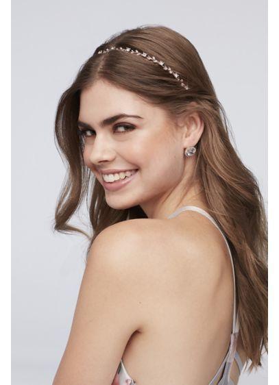 best wedding accessories: crystal headband