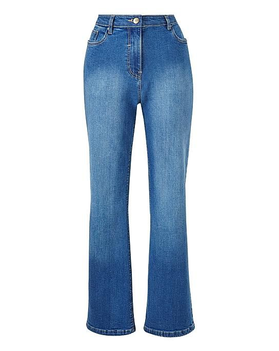 Simply Be Everyday Bootcut Jeans