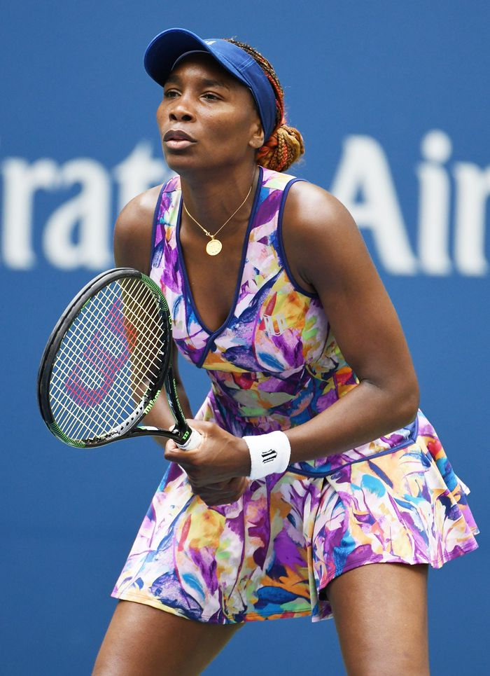 Venus Williams On Her 2018 U S Open Outfit Who What Wear