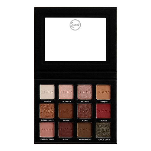 Sigma Warm Neutrals Volume 2 Eye Shadow Palette