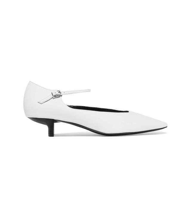 Stella McCartney Faux Leather Mary Jane Pumps