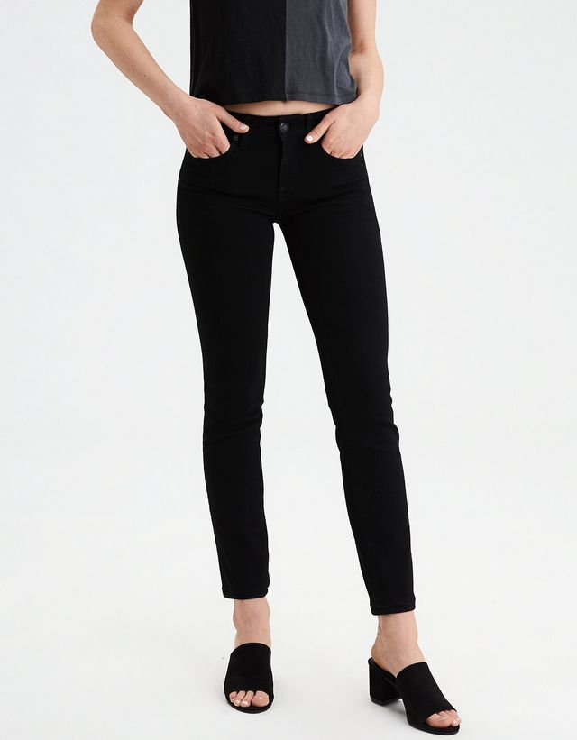 American Eagle Next Level Skinny Jeans in Black