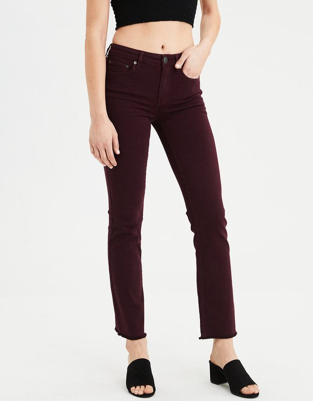 American Eagle Next Level High-Waisted Crop Flare Jeans