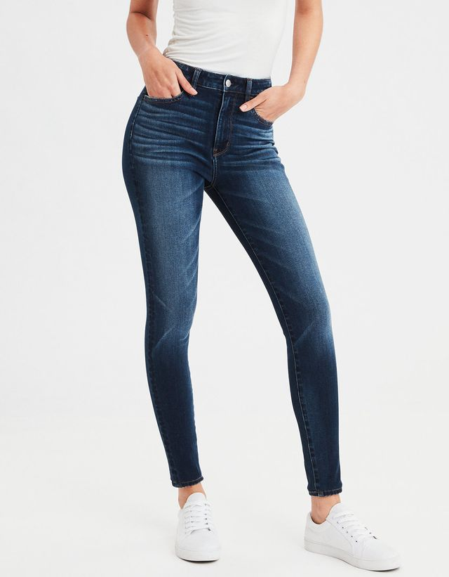 American Eagle AE 360 Next Level Super High-Waisted Jeans