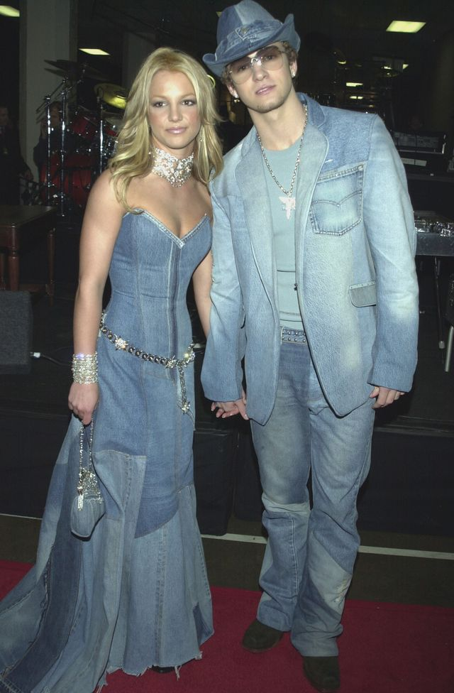 Easy couples costume: Britney Spears and Justin Timberlake