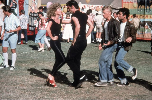 Sandy and Danny from Grease: easy couples costume