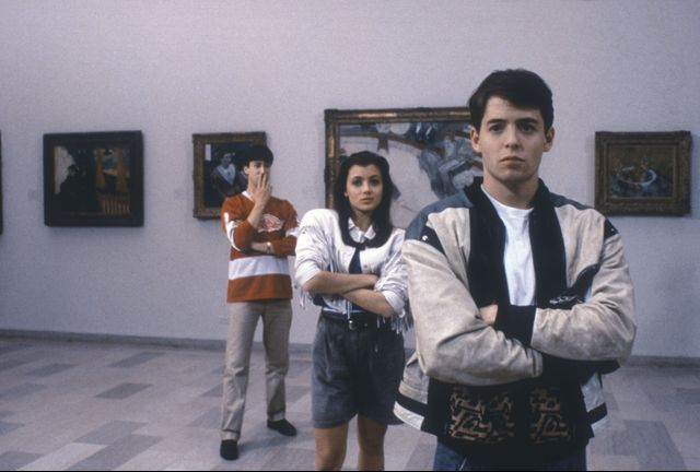Ferris Bueller and Sloane: easy couples costume