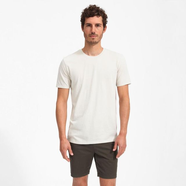 Cotton Crew T-Shirt by Everlane in Stone