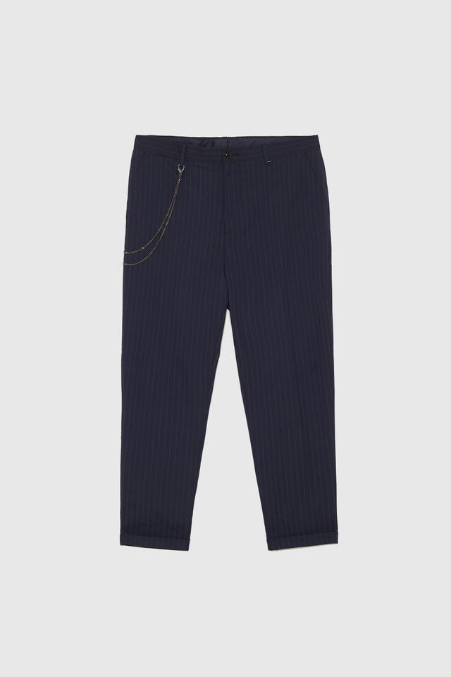 Zara Basic Carrot Fit Pants