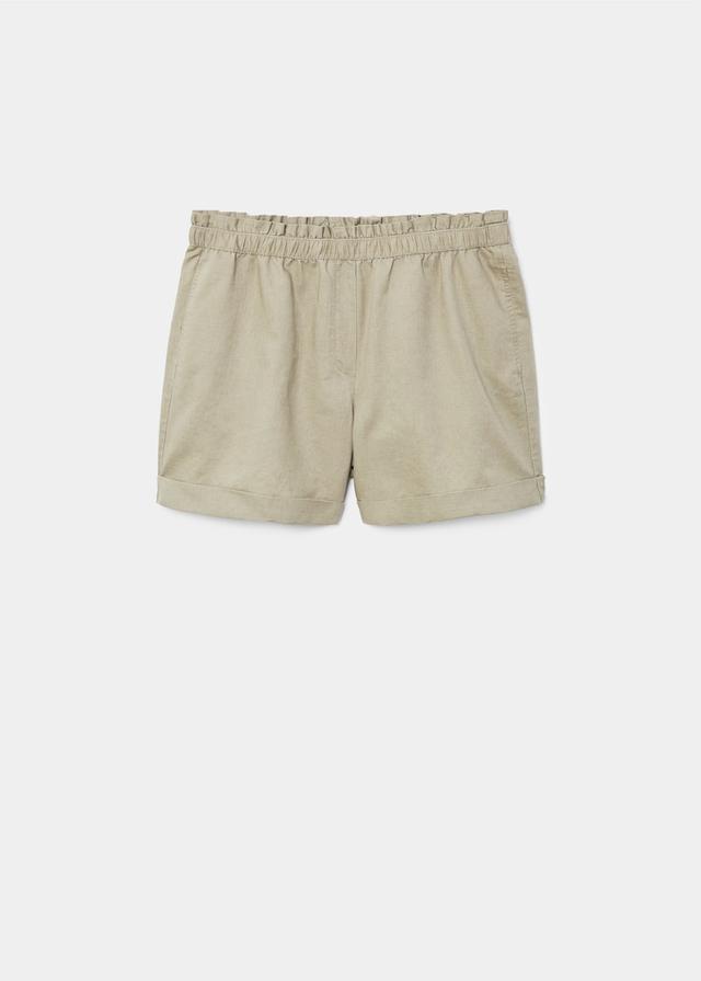Violeta Cotton Linen Blend Shorts