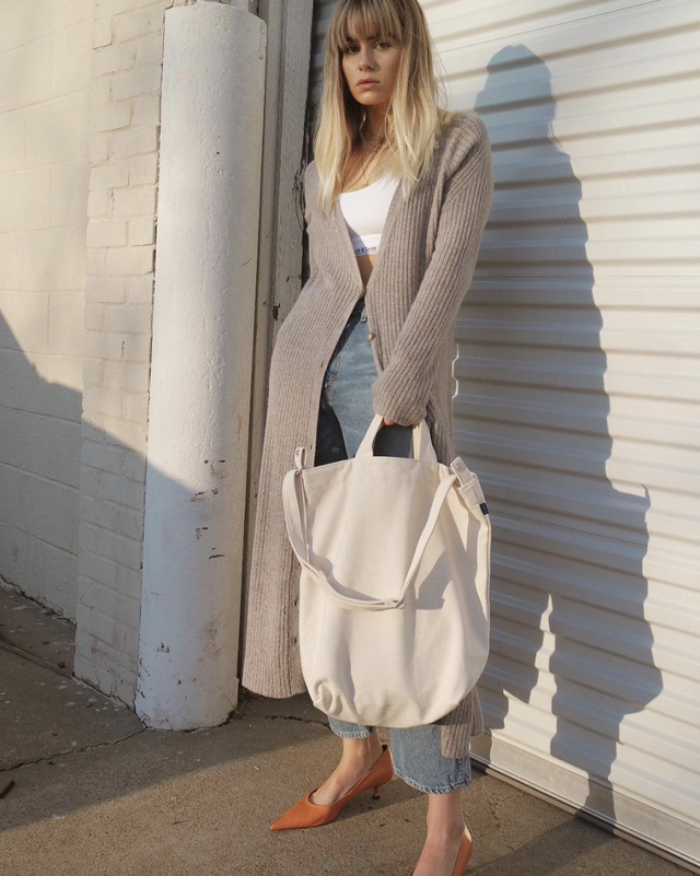 Long cardigan outfit for fall