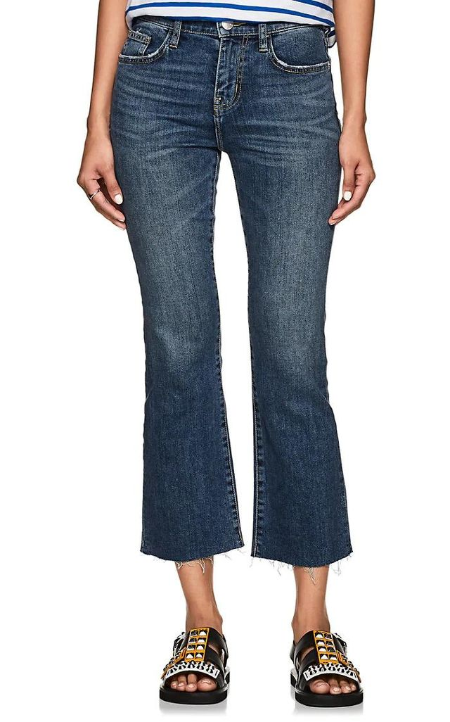 The Kick High Rise Flared Jeans