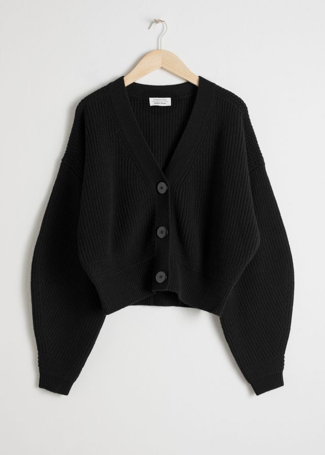 & Other Stories Cropped Cardigan