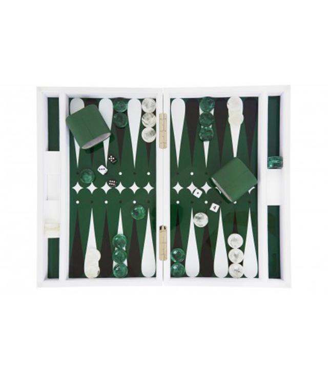 Jayson Home Green Backgammon Set