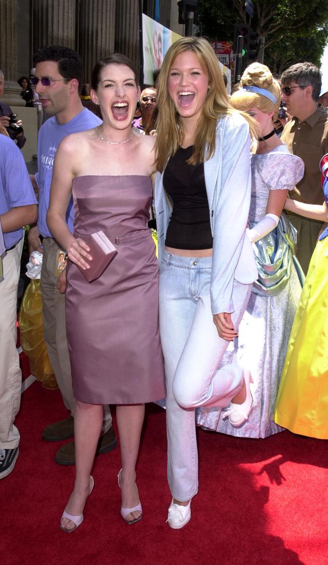 Mandy Moore Princess Diaries Red Carpet